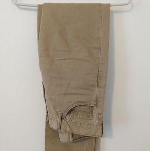 Levi's khaki jeans